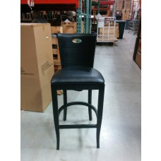 versilla bar stool with black finish
