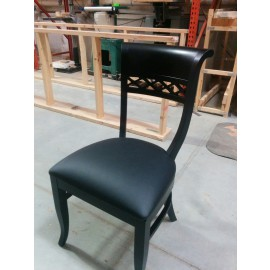 Sultan 4140 Chair with Black Finish
