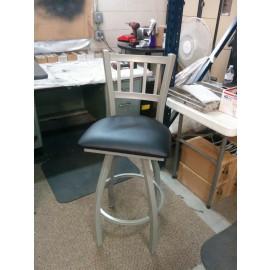 Discount Bar stools 810 Contessa Swivel Bar Stool with Anodized Nickel