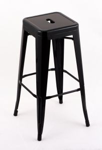"""4 Pack - 30"""" Seat Height Indoor Outdoor Backless Red Bar Stools"""
