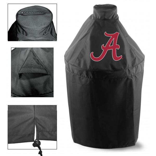 Green Egg Nest Grill Cover With University Of Alabama Logo