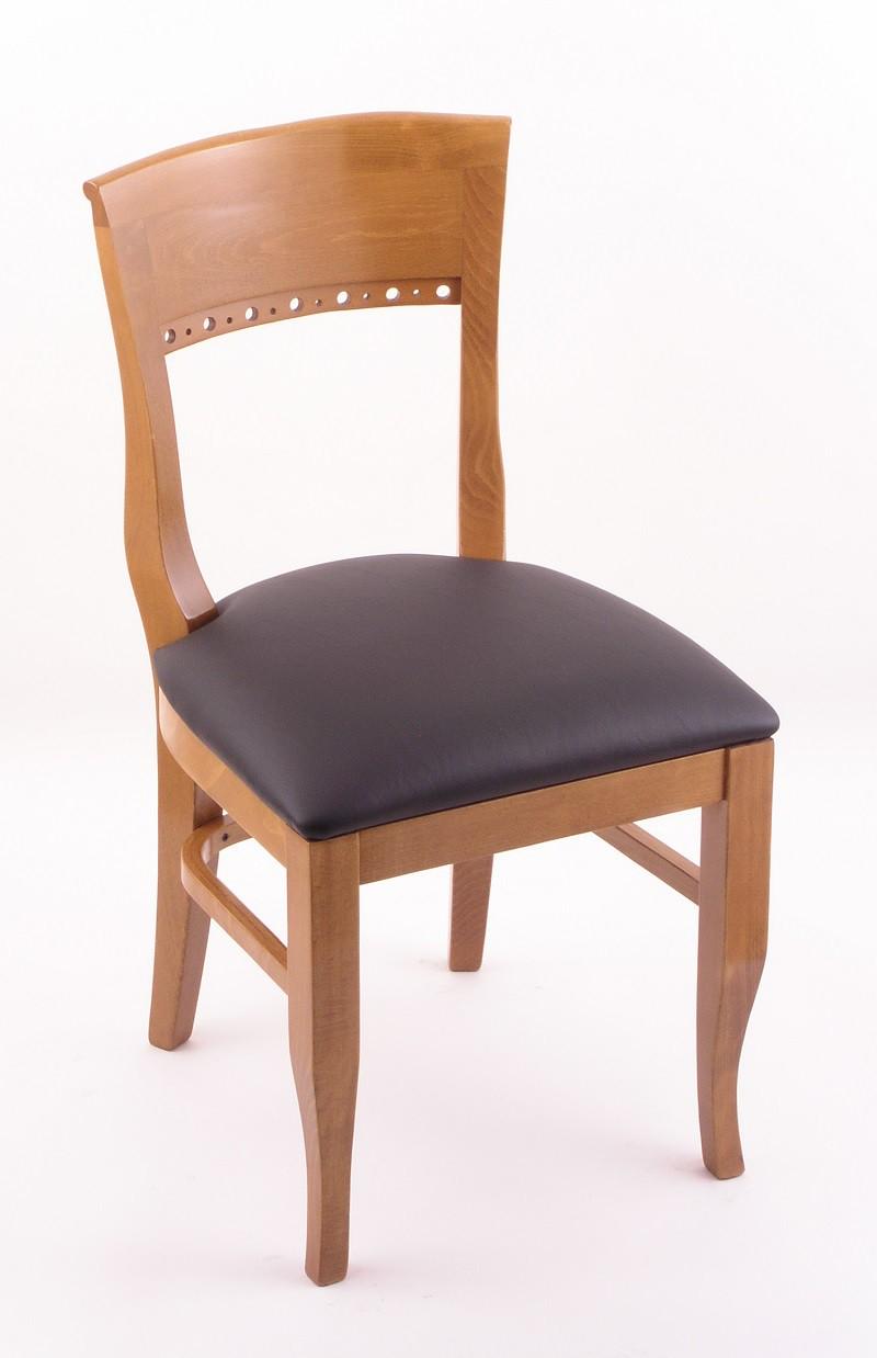 Hampton 18 Quot 3160 Dining Room Chair Medium Finish And Vinyl