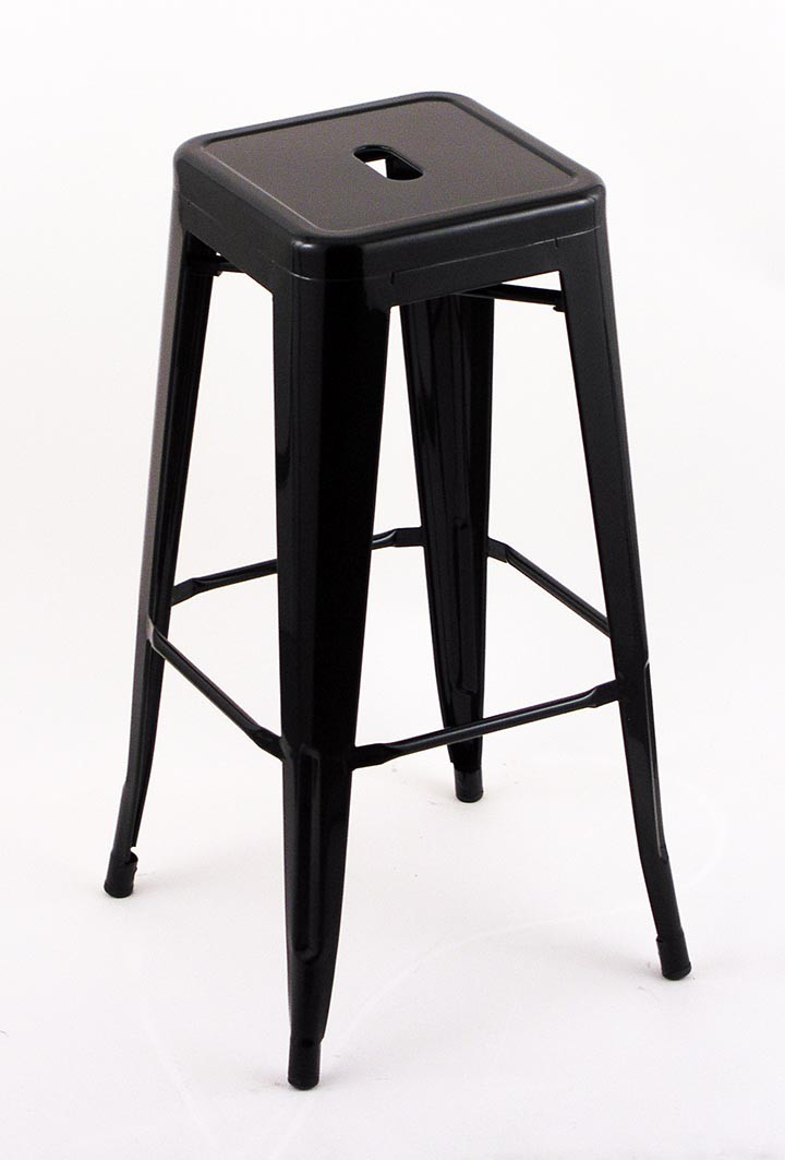 black backless counter stools 4 pack 30 quot seat height indoor outdoor black backless bar 4645