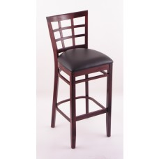 3130 Dark Cherry Finish Bar Stool