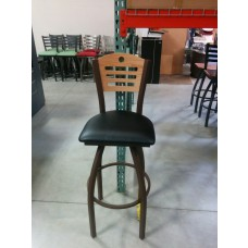 830 Voltairea Swivel Bar Stool