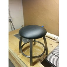 802 Vanity Bar Stool with Stainless Finish