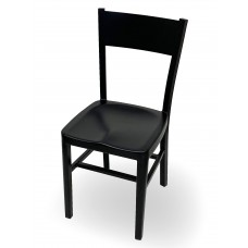 Dani Black Aluminum Chair