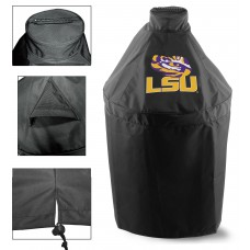 Green Egg Grill Cover with Louisiana State University Logo