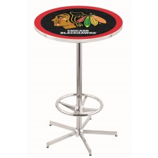 Chicago Black Hawks Pub Table