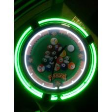 Rack Em Neon Clock