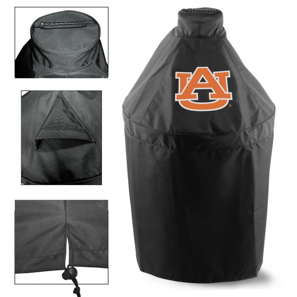 Green Egg Grill Cover with University of Auburn Logo