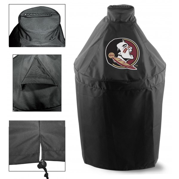 Green Egg Grill Cover with Florida State Logo