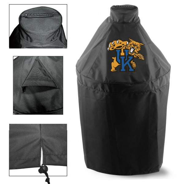 Green Egg Grill Cover with Univesity of Kentucky Logo