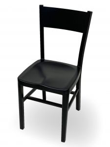 Dani Black Aluminum Chair