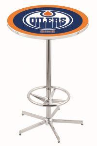 Edmonton Oilers Pub Table