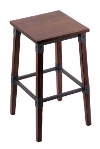 Frontier Backless Bar Stool