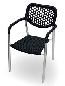 4 Pack McKinley Outdoor Aluminum Chair