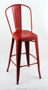 "4 Pack - 30"" Seat Height Indoor Outdoor Bar Stools with Backs"